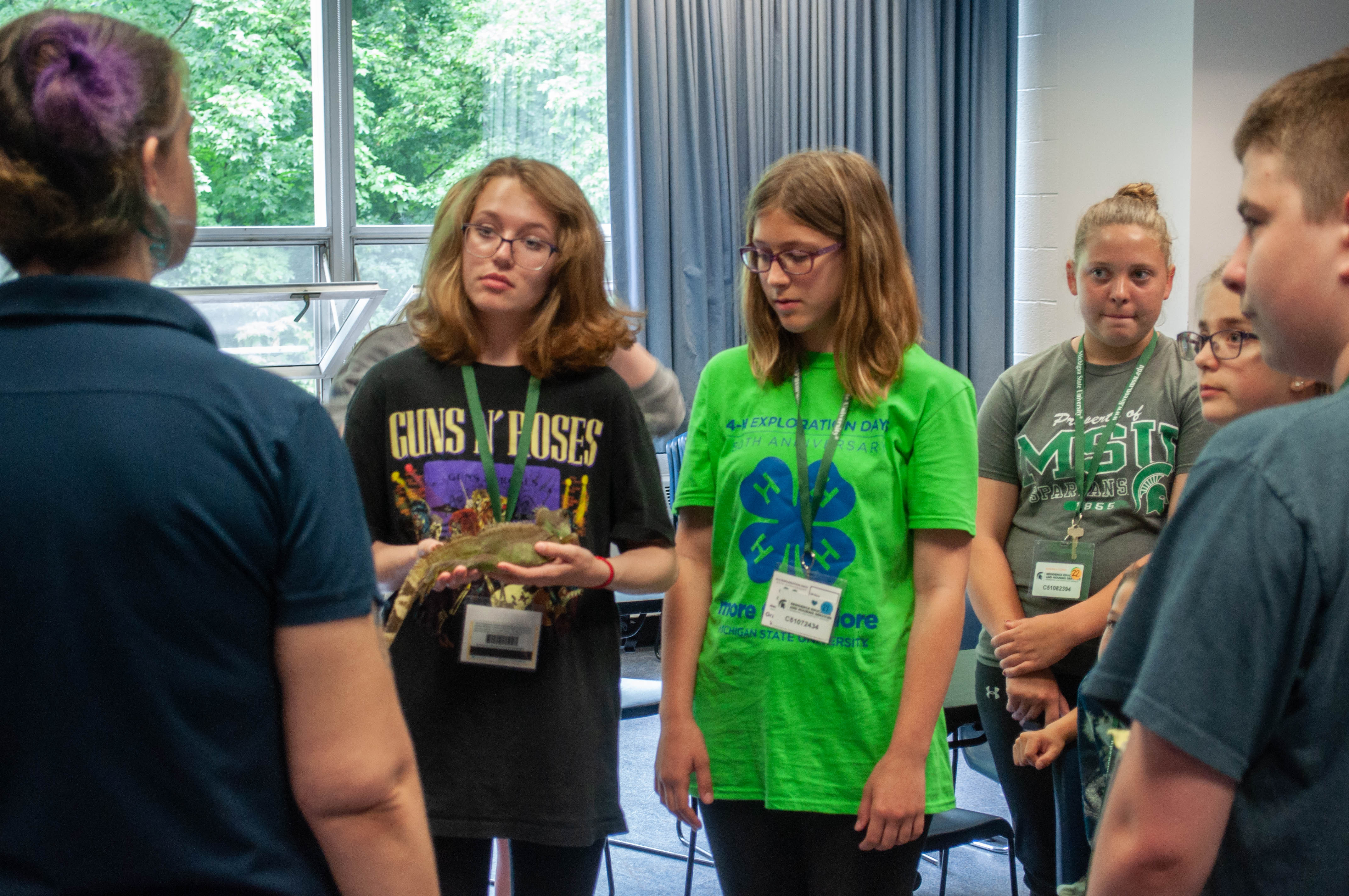 Children at a 4-H Breakout Session