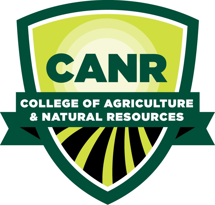 A badge for the College of Agriculture and Natural Resources