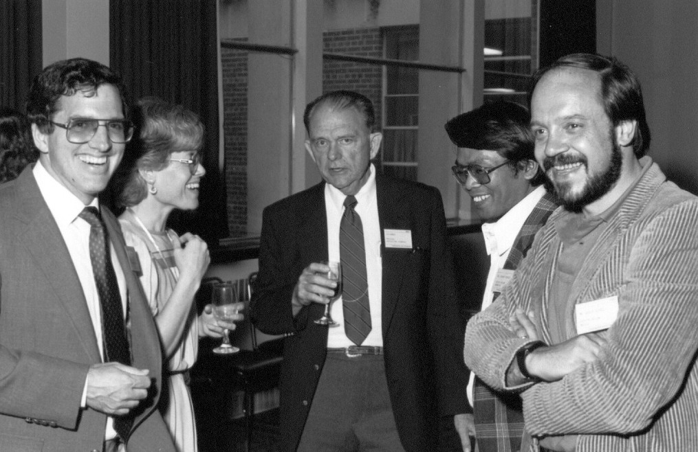 Professor_Bonnen_with_MSU_Faculty_Students_and_Kellogg_International_Fellow_-_1986