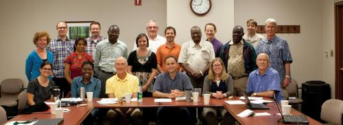 Photo of selected AFRE/AEC Faculty and Graduate Students