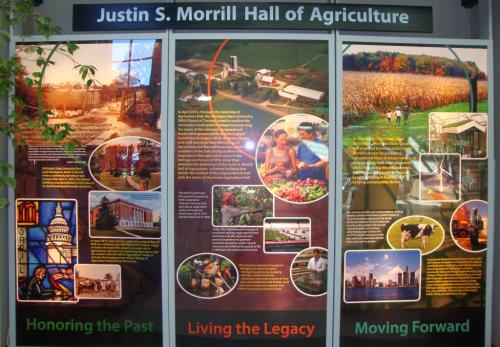 Morrill Hall of Agriculture - Home of AFRE teaching, research and outreach activities