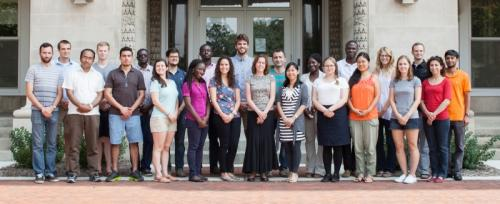 Photo of selected AFRE Graduate Students 2015-2016