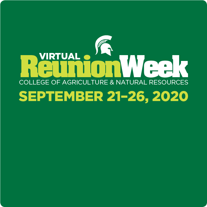 Virtual Reunion Week graphic
