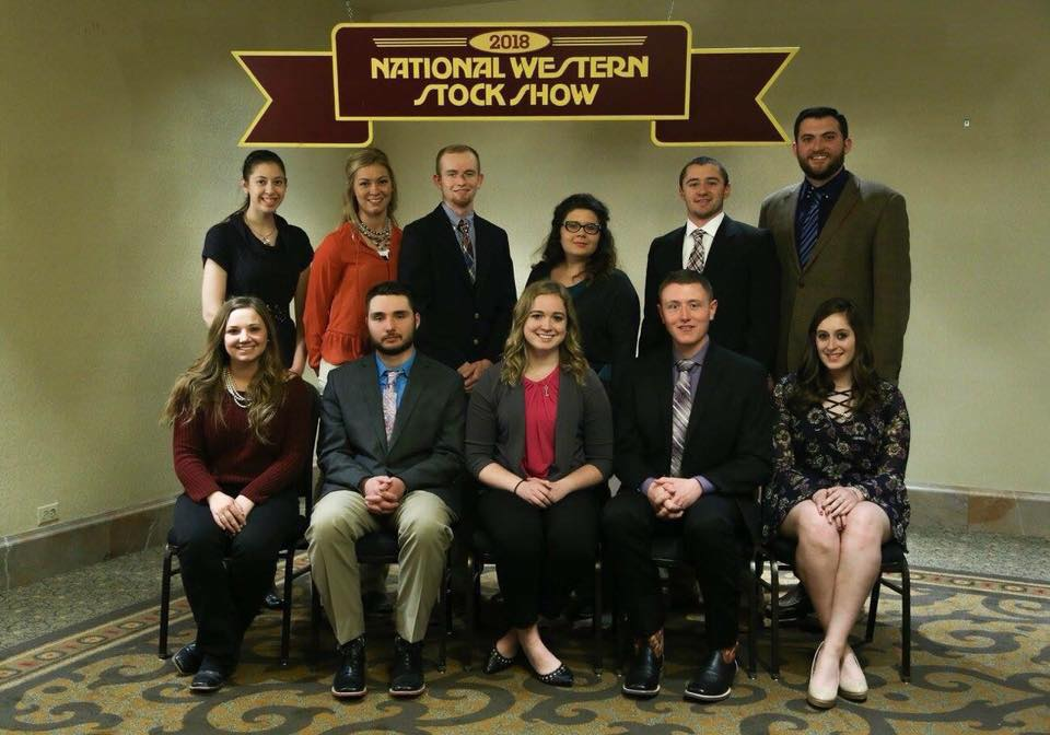 Livestock Judging Team at National Western Stock Show