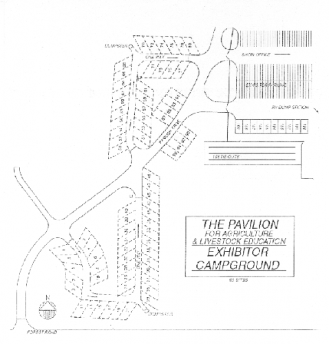 Campground layout