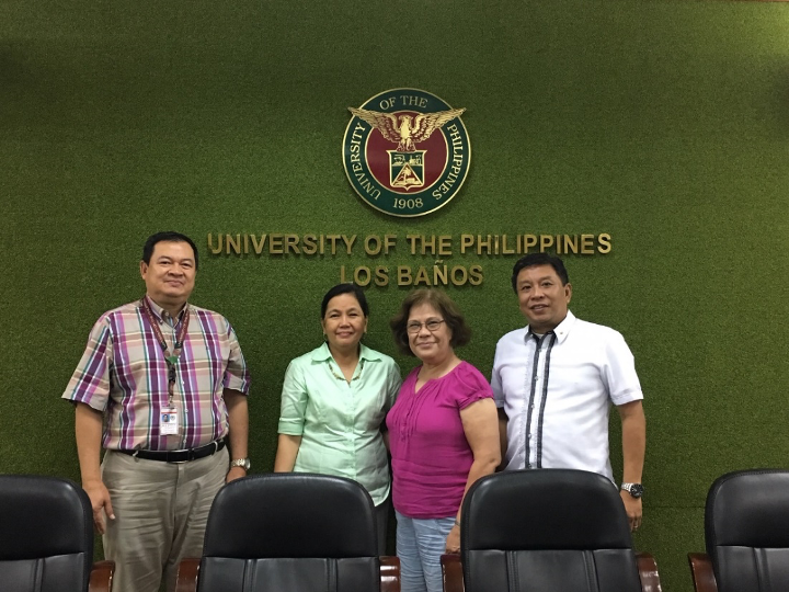 Dr.Alocilja at the Unversity Of The Philippines Los Banos