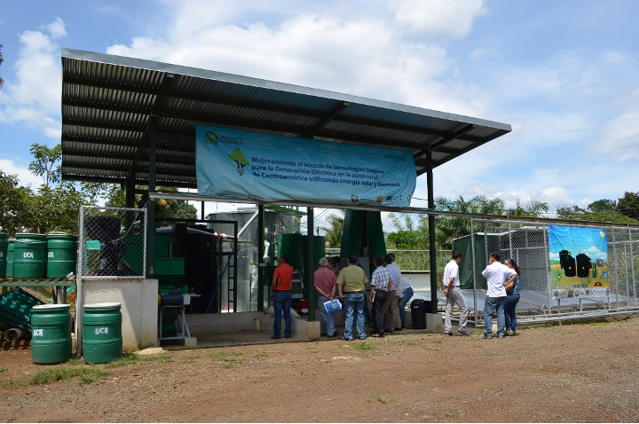 Waste utilization facility at the University of Costa Rica
