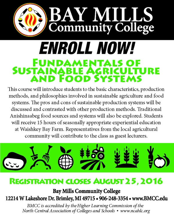 Bay Mills Community College offers Fundamentals of