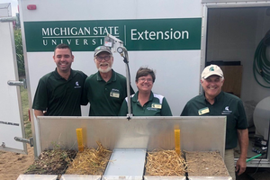 2019 MSU Extension cover crop field days across Michigan