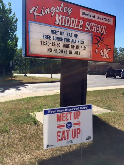 Kingsley Area Schools is a Summer Food Service Program sponsor. Any child 18 and younger can eat free lunch from 11:30-12:30.