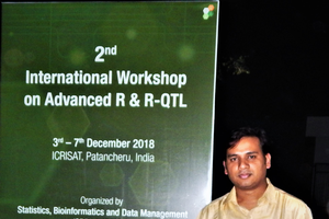BHEARD Scholar Attends International Workshop on Advanced R & R-QTL
