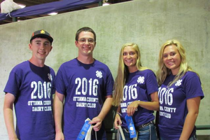 Four Michigan youth compete in National Junior Dairy Management Contest