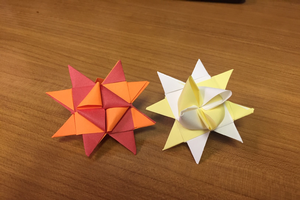 The Froebel Star: A holiday craft and STEAM activity