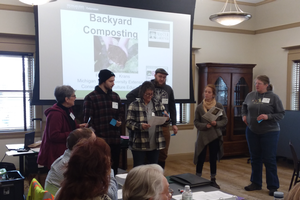 Extension Master Gardeners receive recognition for many hours of volunteering in Upper Peninsula communities
