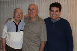 Three generations: Phil, Frank and Jared Saverino.
