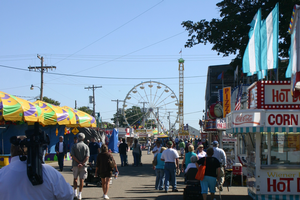 Attending county fairs, festivals or events with a purpose