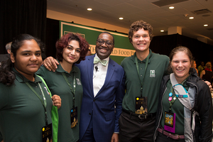 Nathan Laurenz represents Michigan at 2016 World Food Prize Global Youth Institute