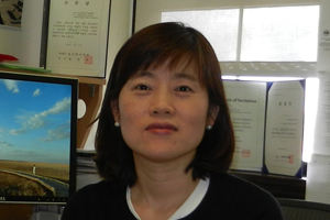 Associate Professor Suk-Kyung Kim, PhD, in the Interior Design Program at the MSU School of Planning, Design and Construction