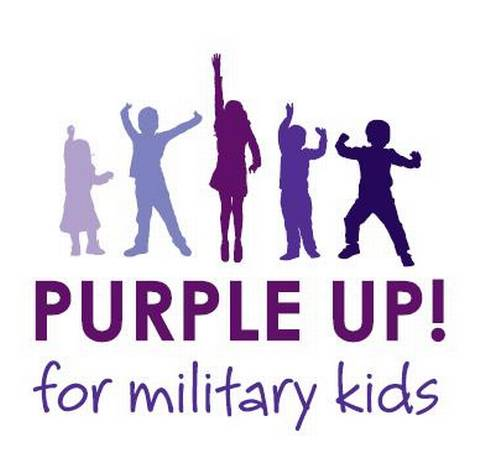 Show your support of children whose parents are serving in the military.