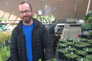 Tyler Hampton finds a new career path from horticulture
