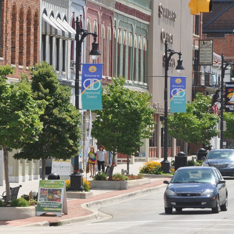Small Town, photo by the Michigan Municipal League