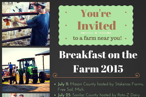 Discover a free family learning experience this summer at five Breakfast on the Farm events