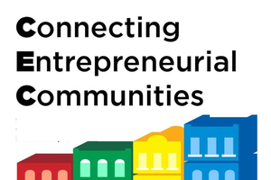 Connecting Entrepreneurial Communities Team receives the Gordon Guyer Collaborative Programming Award
