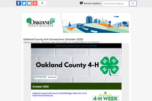Oakland County 4-H Newsletter