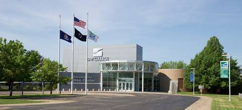 Bay College campus in Escanaba, Michigan