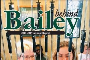 Cover page of the Bailey Scholars Program Annual Report
