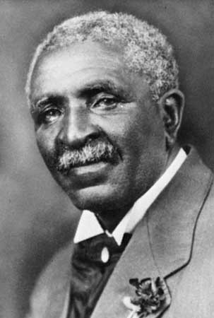 Photograph of Dr. George Washington Carver, courtesy of the Tuskegee Institute.