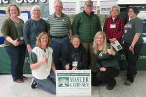 Group of master gardeners