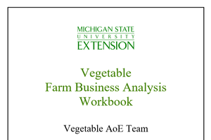 Vegetable  Farm Business Analysis  Workbook