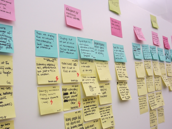 Do you have an affinity for SILENT sticky wall brainstorming