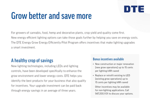 DTE Energy Grow Better and Save More