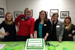 Cheboygan County MSU Extension staff celebrate 100 years of MSU Extension in Cheboygan County.