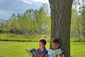 Make reading part of your child's everyday routine with new and interesting ideas. Photo by Nicole Walker.