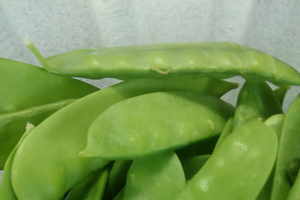 Peas and edible pea pods are great fresh or preserved