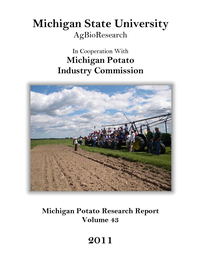 2011 Michigan Potato Research Report