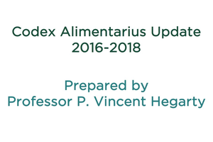 Codex Update 2018 by P. Vincent Hegarty.