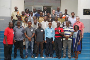 Participants of the three-day workshop organized by BHEARD
