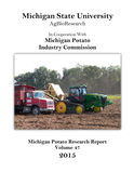 2015 Michigan Potato Research Report