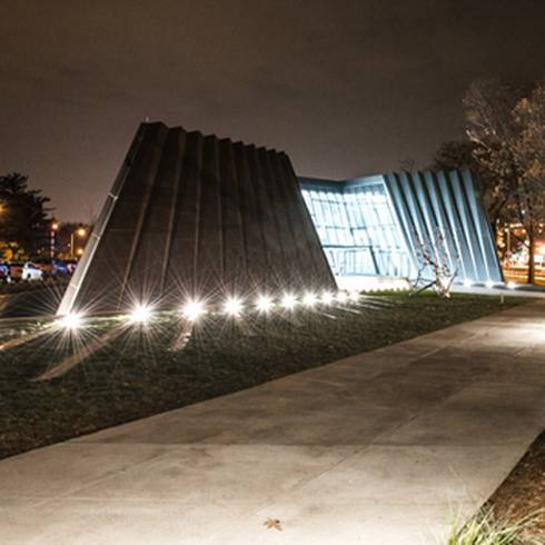 The Eli and Edythe Broad Art Muesum is an example of a green building. Photo by MSU Communications and Brand Strategy.