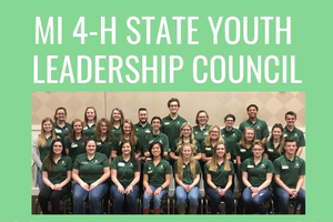 Applications sought for 2020 Michigan 4-H State Youth Leadership Council