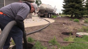 Risers make accessing the septic tank an easy task.