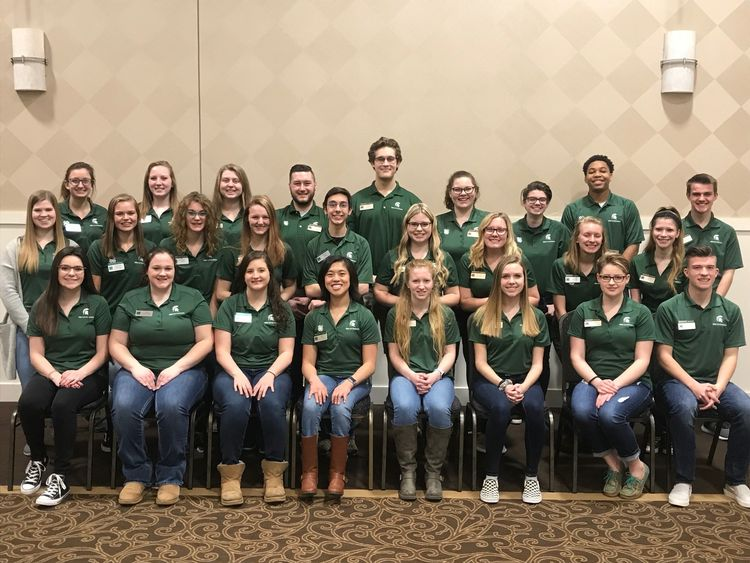 2019 State Youth Leadership Council members