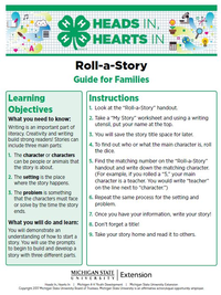 Roll-a-Story cover page.