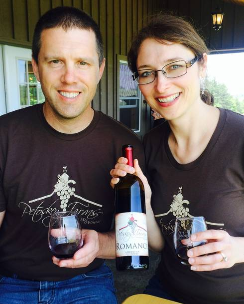 Petoskey Farms Vineyard and Winery | Andy and Tracie Roush