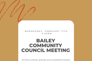 February Bailey Community Council Meeting