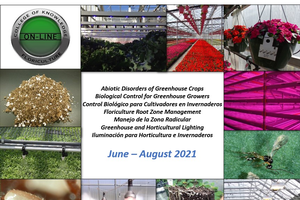 Sign up today for four summer greenhouse online courses
